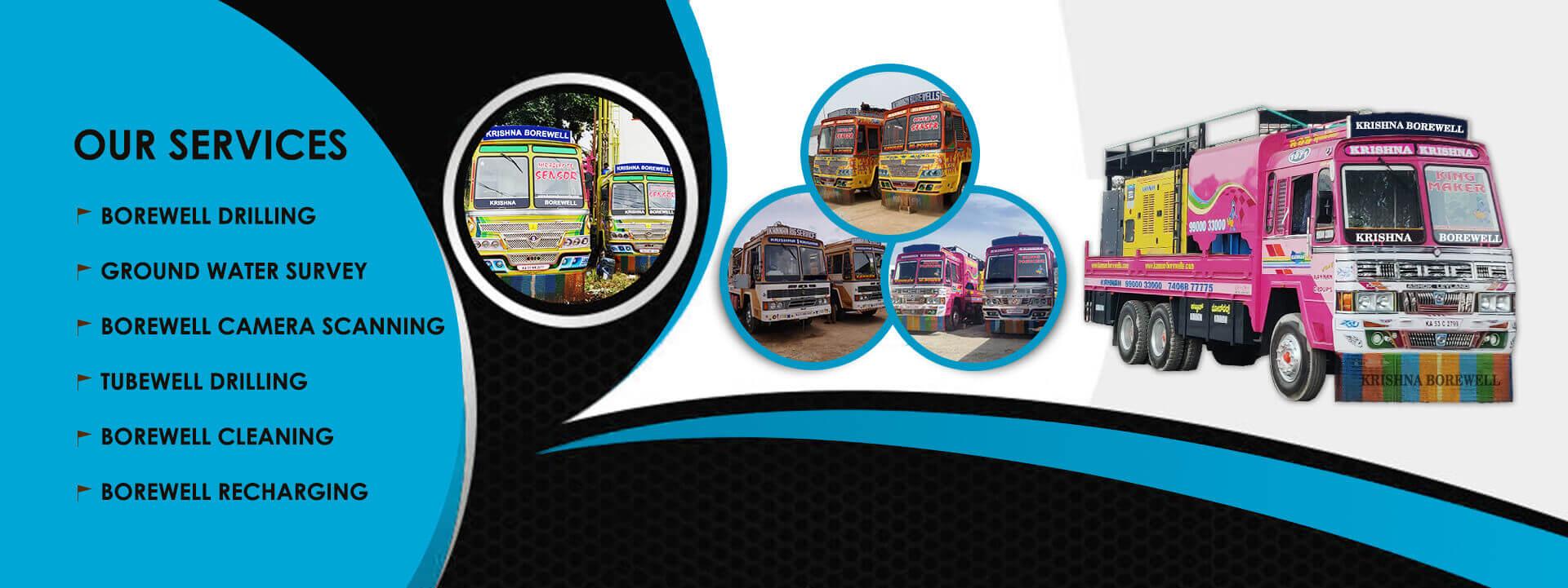 Borewell Drilling Contractors in Bangalore | Krishna Borewell